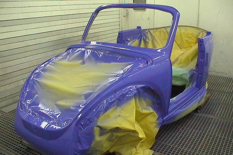 Oldtimerrestauration VW Kaefer Cabrio
