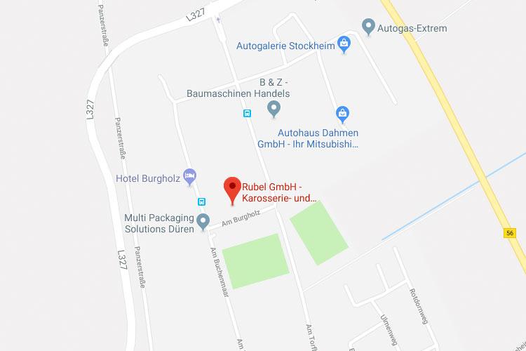 Rubel GmbH Anfahrt